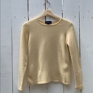 Yellow 100% Cashmere Sweater | Charter Club | XS/S